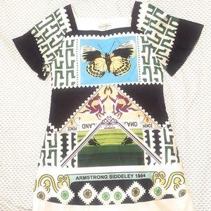 Mary Katrantzou Full Color Butterfly Dress